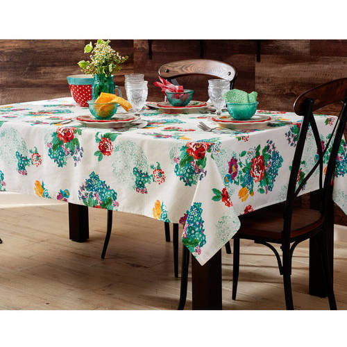 """The Pioneer Woman Country Garden Tablecloth, 52"""" x 70"""" in by TOWN AND COUNTRY LIVING"""