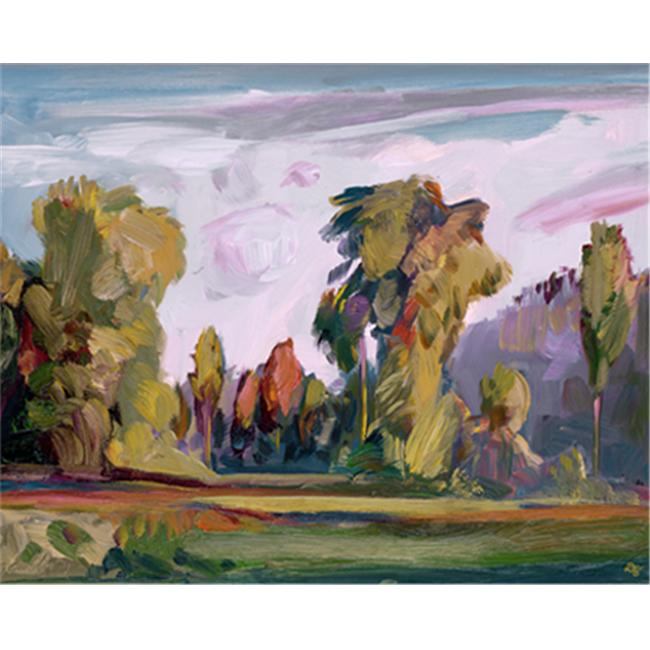 The Monarch Collection TMC-CZ-15-30X40 Fairway - 30 X 40 Painting
