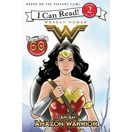 Wonder Woman: I Am an Amazon Warrior (Amazon For Women)