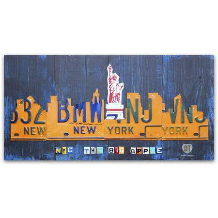 New York City Fine Art (Trademark Fine Art 'New York City Skyline' Canvas Art by Design Turnpike)