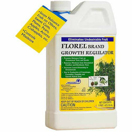 Monterey Lawn & Garden LG4100 1 Pint Florel Growth Regulator