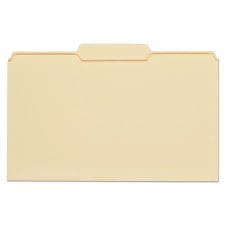 Universal Top Tab Manila File Folders, 1/3-Cut Tabs, Center Position, Legal Size, 11 pt. Manila, 100/Box -UNV15122