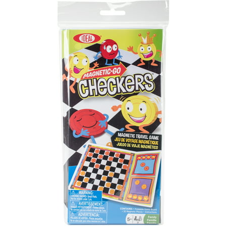 Magnetic Go Travel GameCheckers