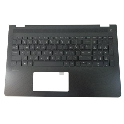 Genuine HP Pavilion X360 15-BR Palmrest w/ Non-Backlit Keyboard 924522-001