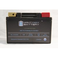 LiFePO4 12V 10-14ah Battery for Gilera 250 RV NGR E-Starter 2011