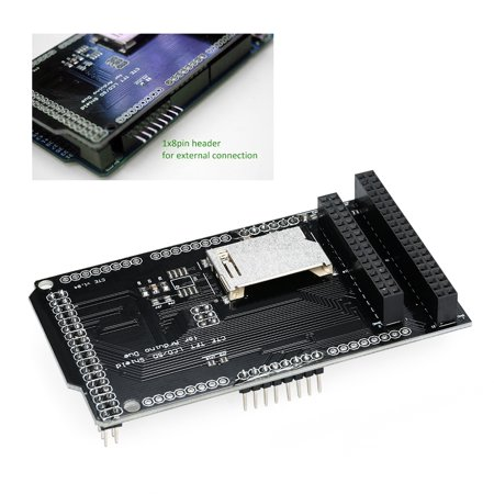 CTE TFT LCD / SD Card Shield Expansion Board for Arduino DUE Module Support 32Pin 40Pin Version LCD - image 1 of 7