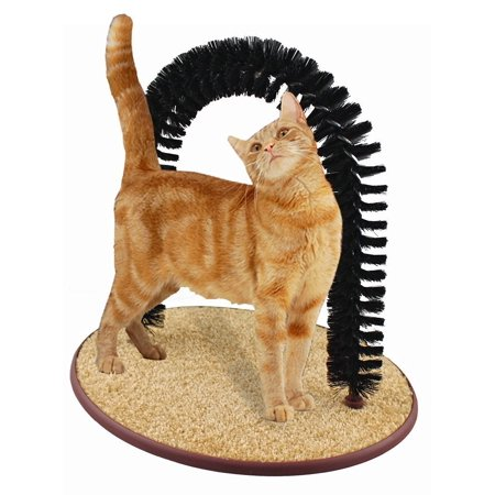 Perfect Cat Self Grooming Arch with Catnip Cat Toy ()