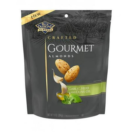 Blue Diamond Gourmet Almonds, Garlic, Herb and Olive Oil 10 oz