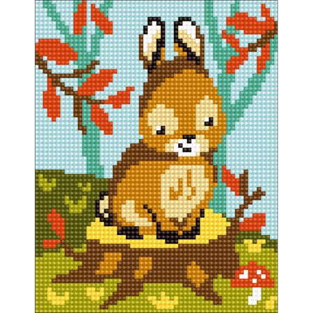 Collection D'Art Stamped Needlepoint Kit -