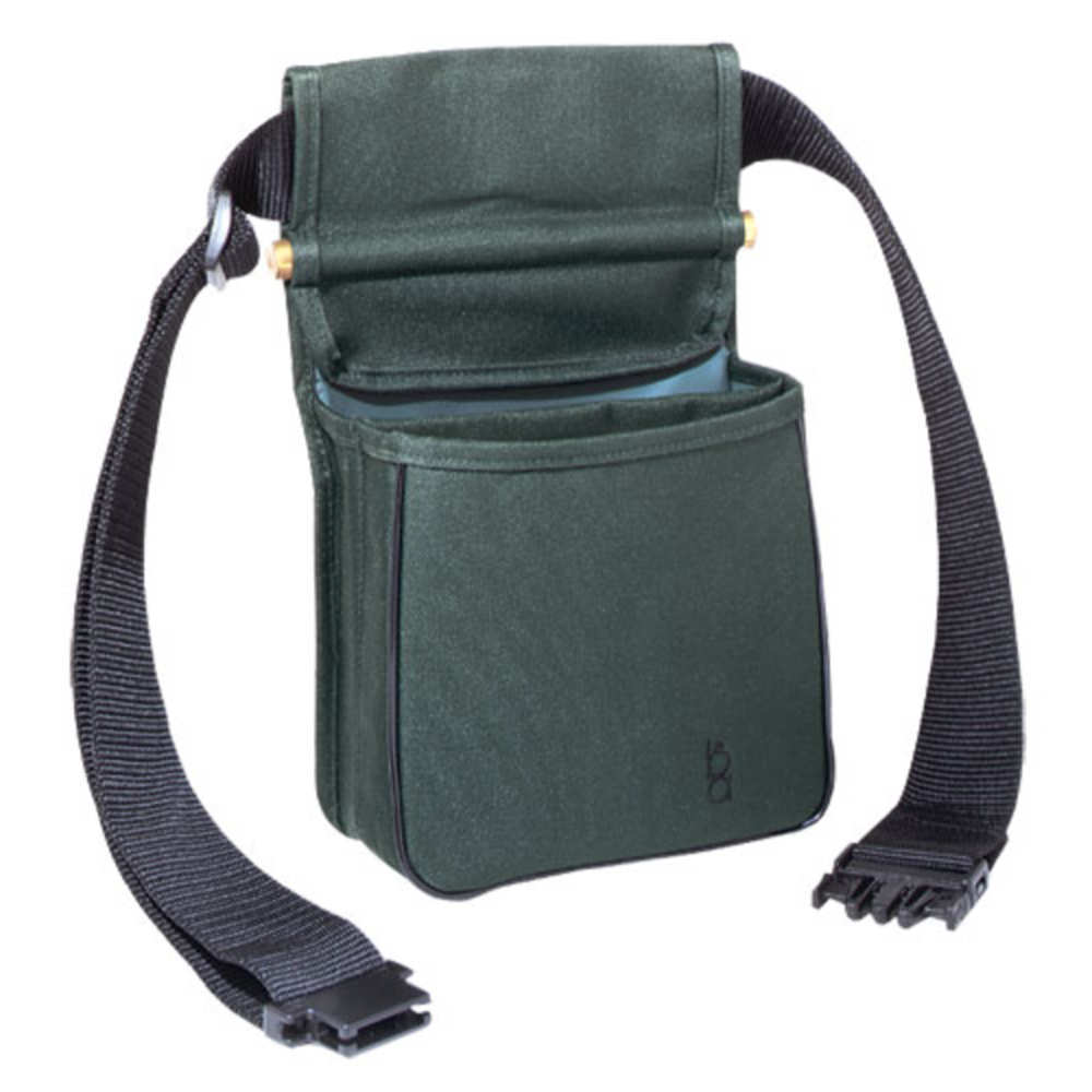 Bob Allen Divided Pouch w/ Belt, GREEN