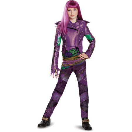 Girls Descendants Mal Isle Look Prestige Costume