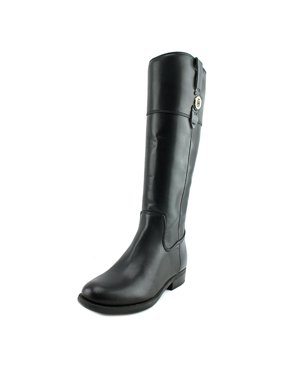 tommy hilfiger shano   round toe synthetic  knee high boot
