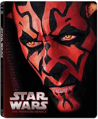 Star Wars: Episode I: The Phantom Menace (Steelbook) (Blu-ray) by TWENTIETH CENTURY FOX