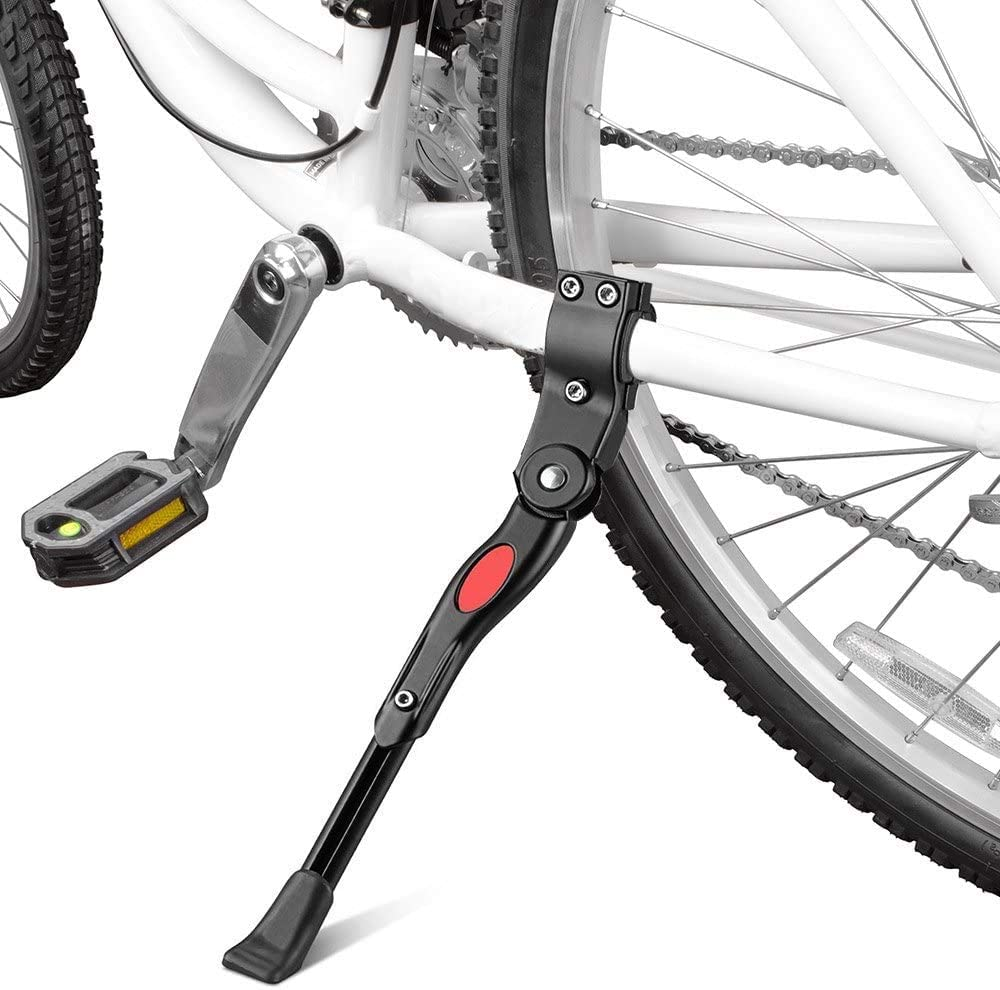 Mountain Adjustable Bicycle Side Rear Kickstand Fit for 26/'/' kick stand bike
