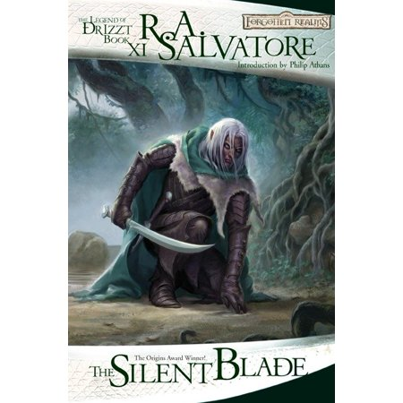 The Silent Blade : The Legend of Drizzt, Book XI