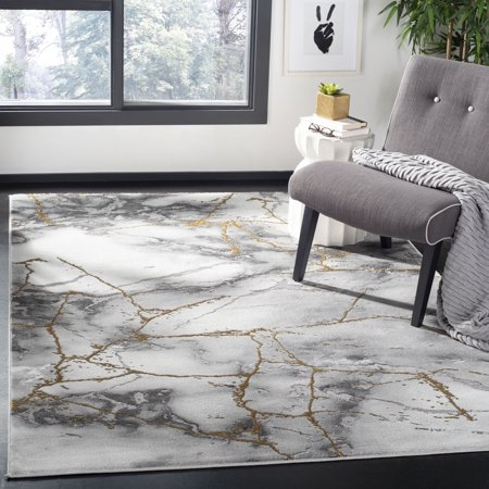 Abstract Marble - Safavieh Craft Paul Abstract Marble Area Rug or Runner