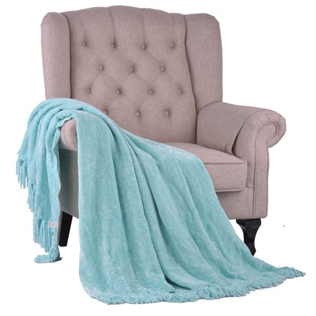 Boon Crystal Chenille Throw Blanket