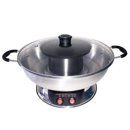 Sonya Electric Shabu Shabu Hotpot with BBQ Grill SYHS-4L