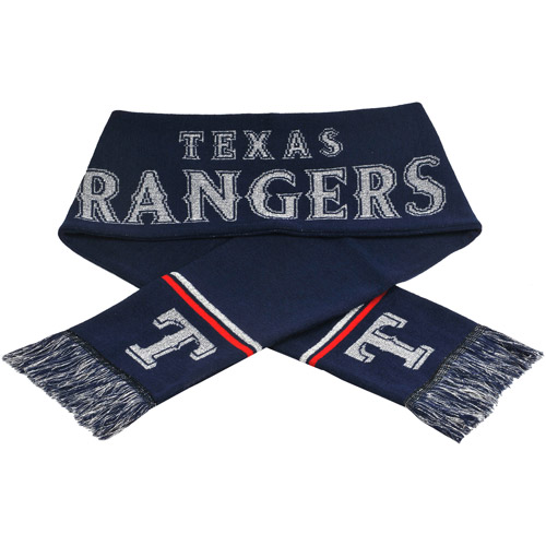 Forever Collectibles MLB Glitter Scarf, Texas Rangers