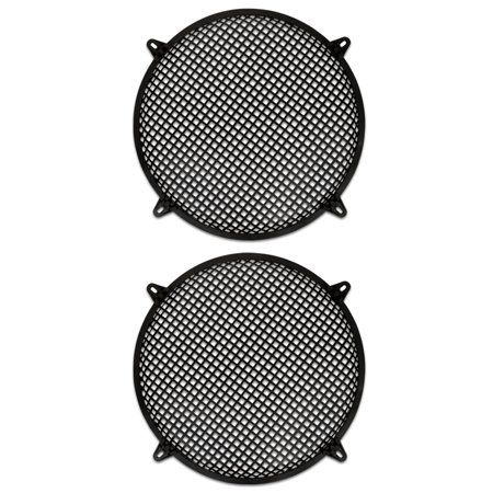 2 Goldwood Sound SWG-15 Steel Waffle Woofer Grills with Hardware for 15