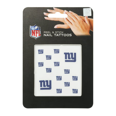 NFL Peel & Stick Nail Tattoos, NY, 1.0 CT (Nfl Tattoos)