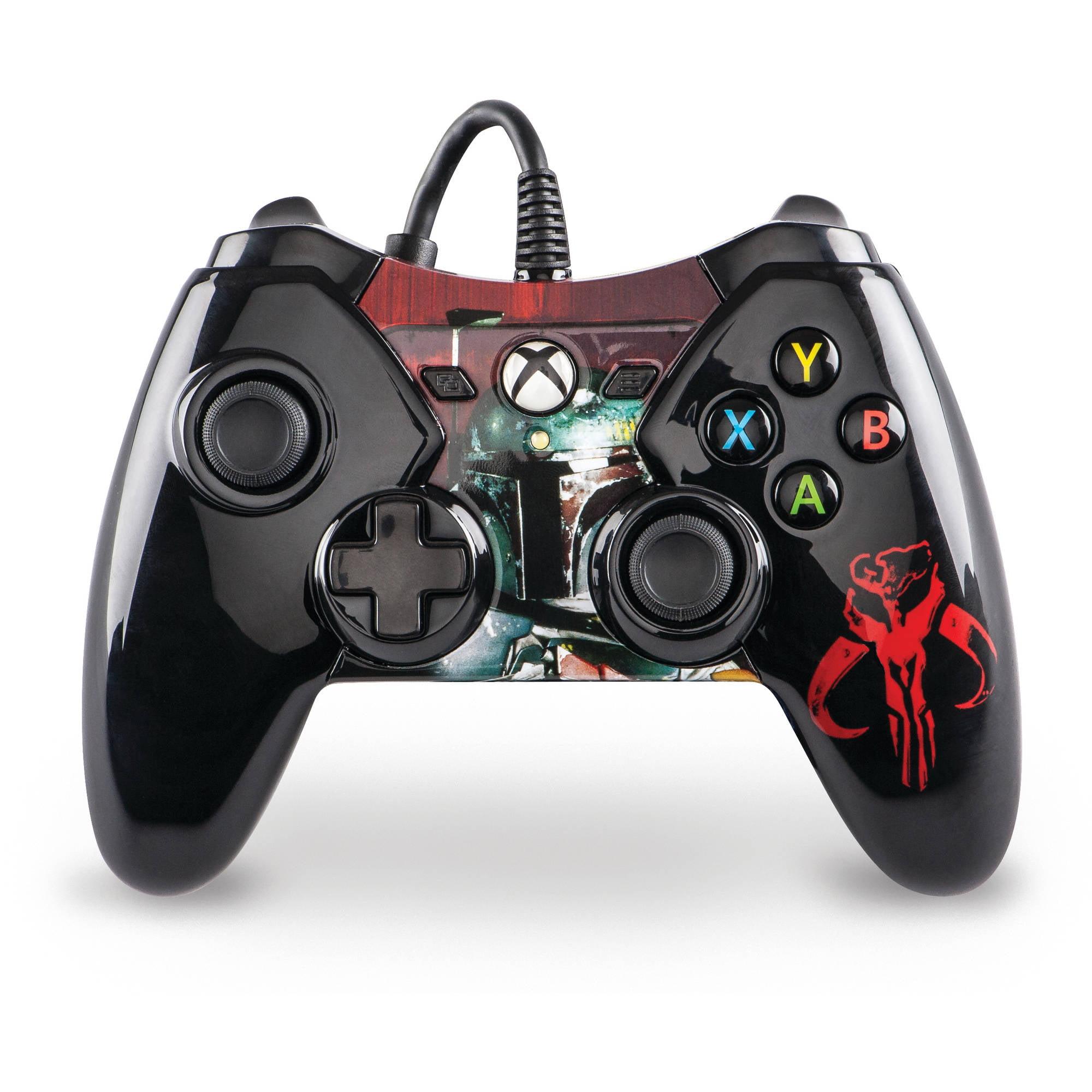 Xbox One Wired Star Wars Boba Fett Controller - Walmart.com