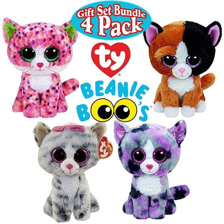 TY Beanie Boos Cat Gift Set Bundle Featuring Sophie aa2bc72bc47b