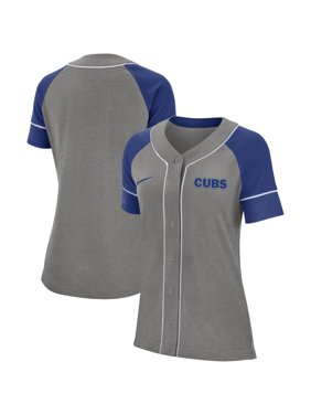 Chicago Cubs Nike Women's Classic Baseball Jersey - Gray