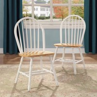 Better Homes and Gardens Autumn Lane Windsor Solid Wood Dining Chairs, Set of 2