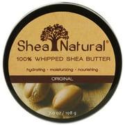 Shea Natural Whipped Shea Butter, Original Fragrance Free, 7 Oz