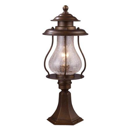 ELK Lighting Wikshire 62007-1 1-Light Outdoor Post Mount Light ()