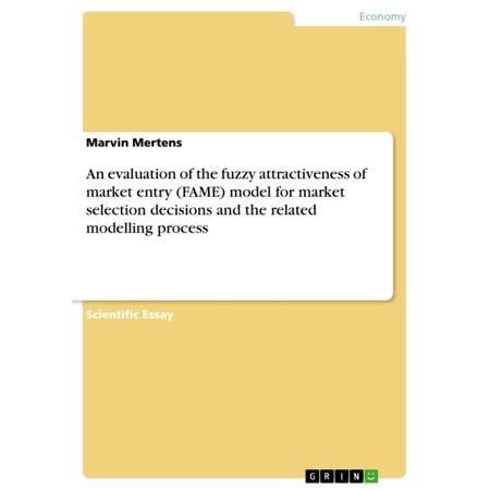 An evaluation of the fuzzy attractiveness of market entry (FAME) model for market selection decisions and the related modelling process -