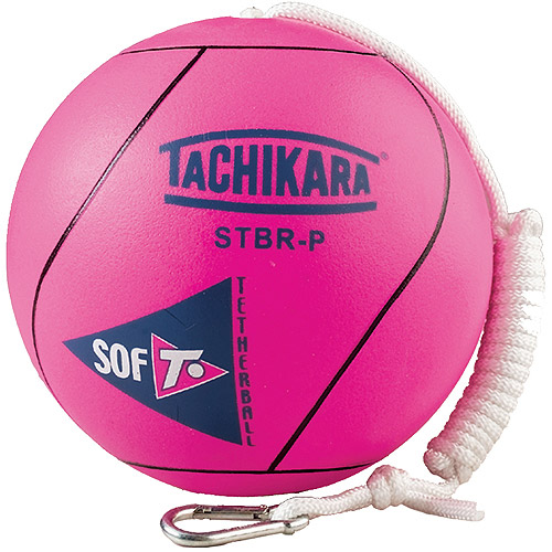 Tachikara STBR-P Sof-T Rubber Tetherball, Pink