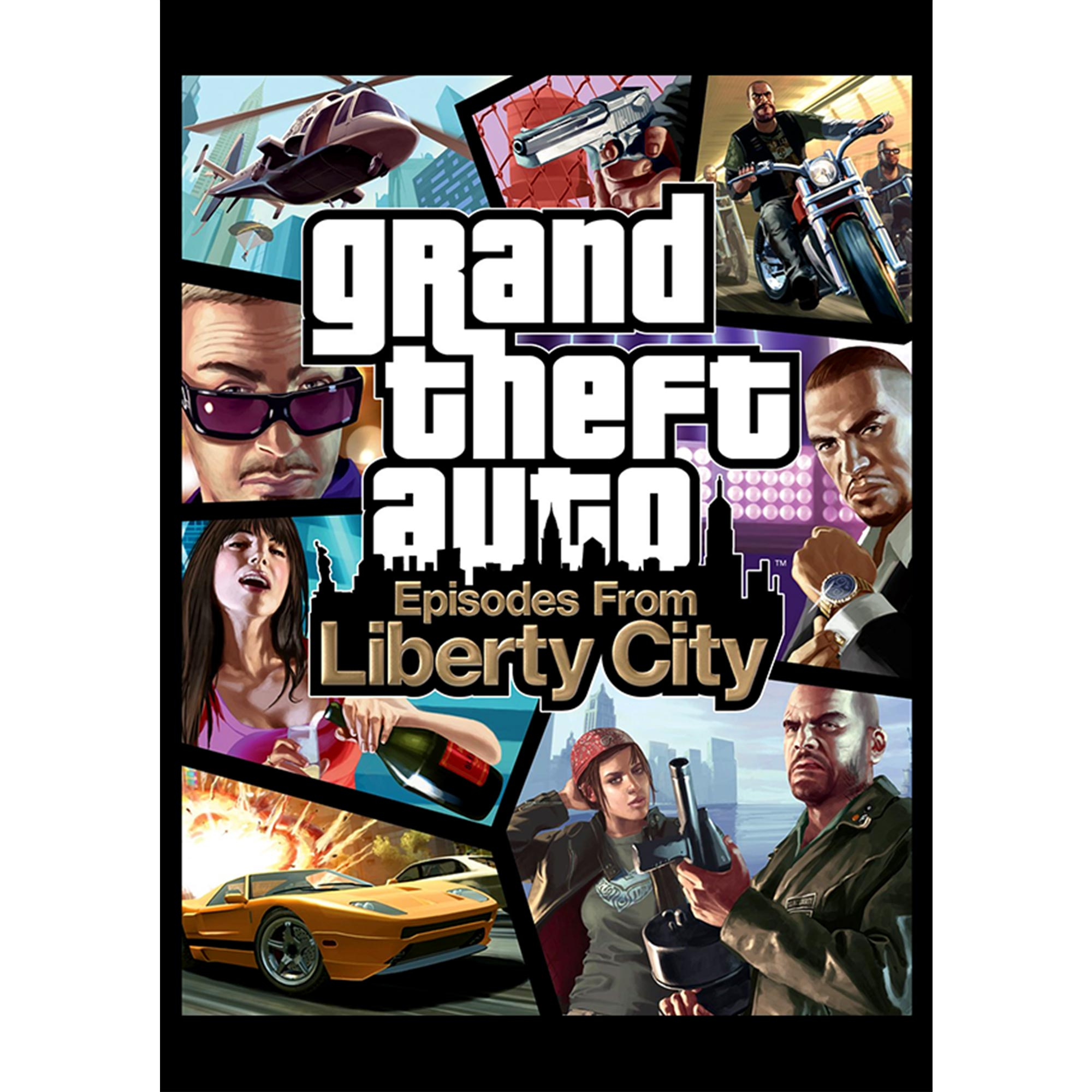 Grand Theft Auto: Episodes from Liberty City (PC)(Digital Download)
