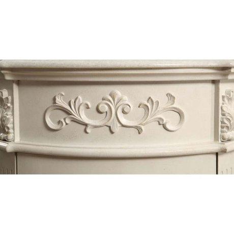 Elegant Lighting Danville 1 Door 24 Single Bathroom Vanity In White