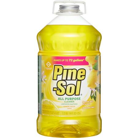 Pine-Sol, CLO35419CT, Pine-Sol All-Purpose Cleaner, 3 / Carton, Yellow ()