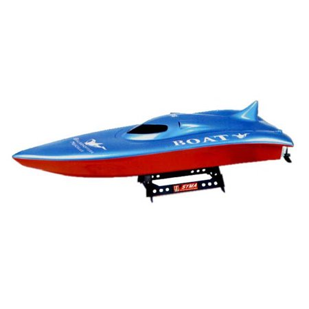 23  Balaenoptera Musculus Racing Boat Radio Control Ship High Speed   Red Blue  Gift Idea