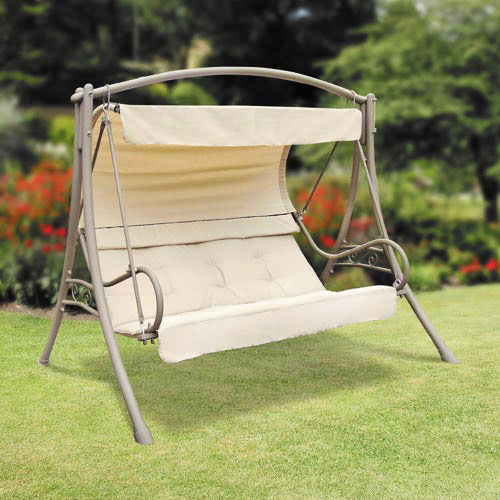 Garden Winds Replacement Canopy Top for the Suntime Sevill Swing