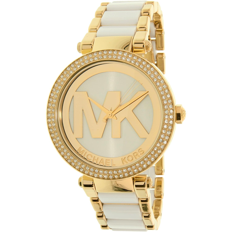 c9955a2fc4e8 Michael Kors Women s Parker MK6313 Gold Stainless-Steel Quartz Fashion Watch