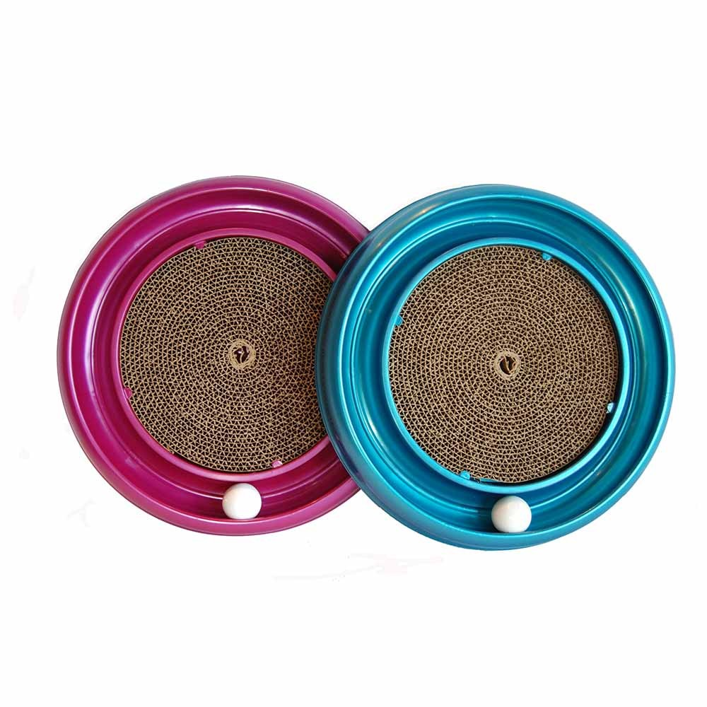 Bergan Turboscratcher Cat Toy, Assorted