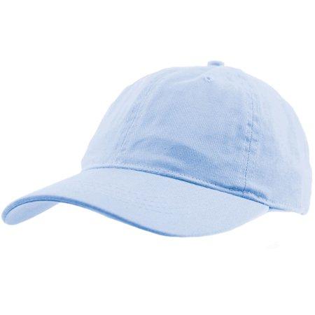 72ea1b79a2e99 Everyday Unisex Cotton Dad Hat Plain Blank Baseball Adjustable Ball Cap -  Walmart.com