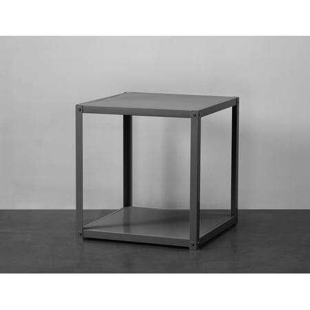Mainstays Metal End Side Table, Multiple Colors (Metal Loop End)