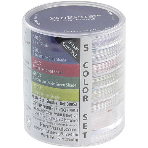 PanPastel Pastels (Set of 5 Colors)