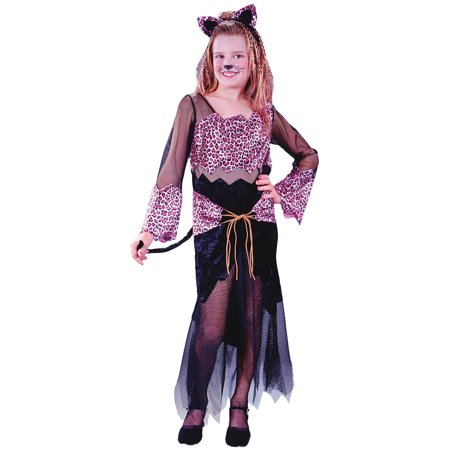 Jungle Themed Costumes (Morris costumes FW5804SM Jungle Cat Jane Child)