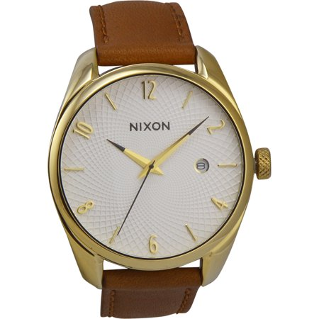 fe8abd678 Nixon Bullet A4731425 White Dial Women's Leather Band Watch ...