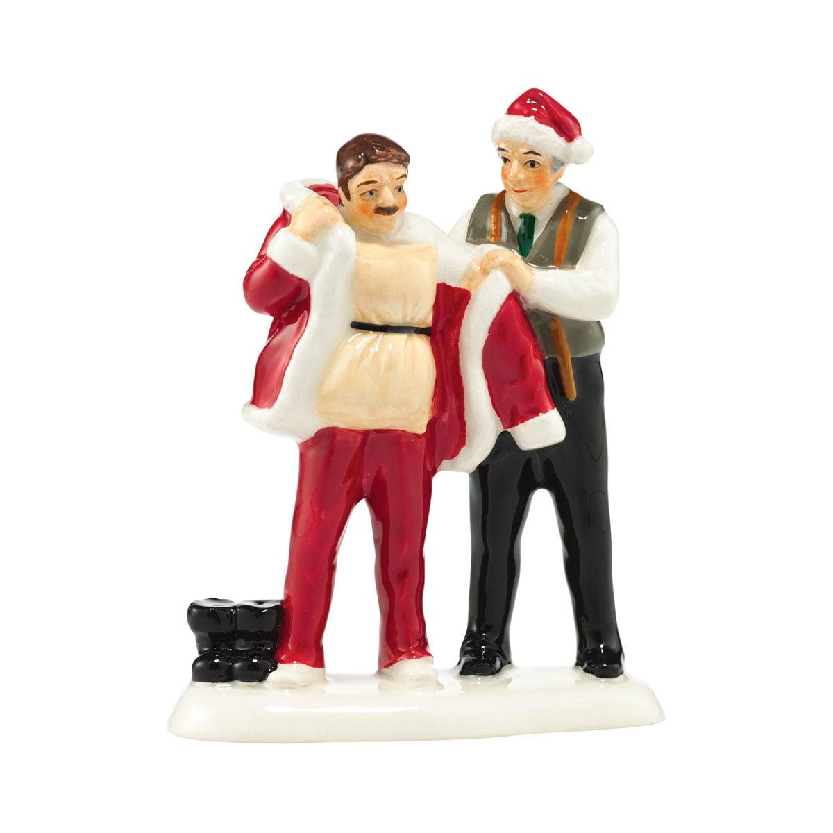 Dept 56 Snow Village 4044858 Santa/'s Suits For Santa/'s Helper