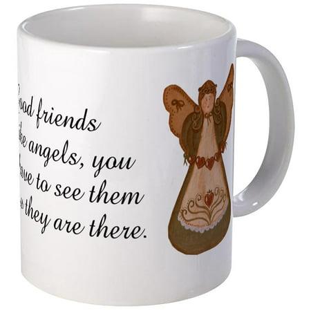 CafePress - Good Friends Are Like Angels Mug - Unique Coffee Mug, Coffee Cup CafePress