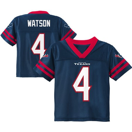 Toddler Deshaun Watson Navy Houston Texans Team Color Jersey (Custom Texans Jersey)