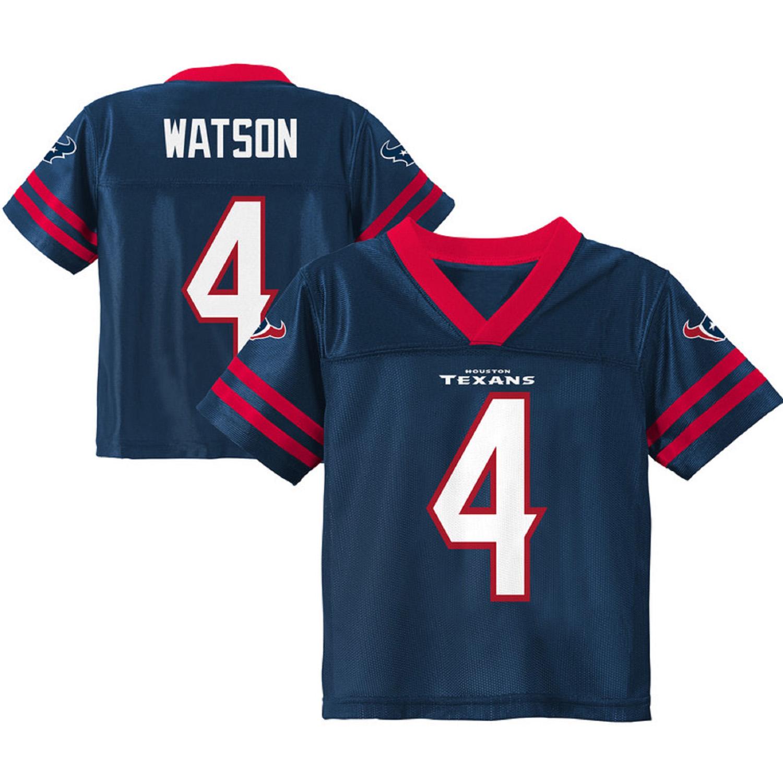 Toddler Deshaun Watson Navy Houston Texans Team Color Jersey