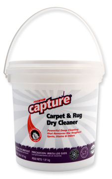 Milliken Capture Carpet And Rug Dry Cleaner Powder 4 Lb Pail
